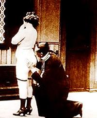 Cartel de cine erótico 1920
