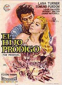 Cartel de cine bíblico 1955