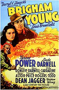 Cartel de cine oeste 1940