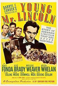 Cartel de cine oeste 1939