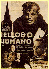 Cartel de cine terror 1935