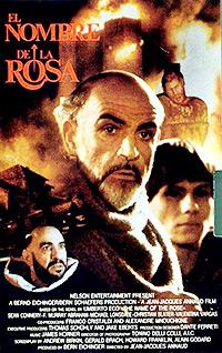 Cartel de cine literatura 1986