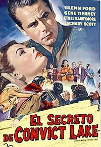 Cartel de cine western 1951