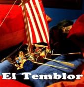 Portada del CD Mar de fondo del grupo El Temblor