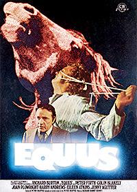 Cartel de cine drama 1977