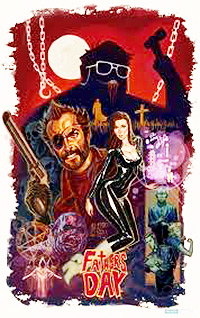Cartel de cine terror erotico 2011