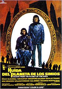 Cartel de cine ciencia ficción 1971