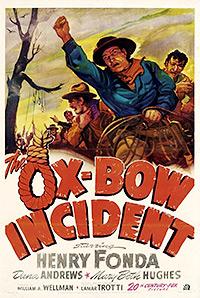 Cartel de cine oeste 1943