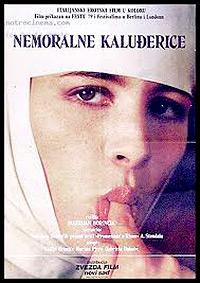 Cartel de cine erotico nunsploitation 1977