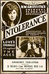 Cartel de cine clasico 1916