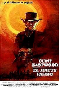 Cartel de cine oeste 1985