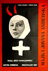 Cartel de cine erótico nunsploitation 1961