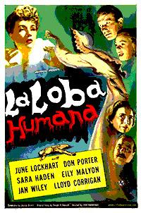 Cartel de cine terror 1946