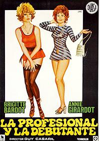 Cartel de cine clasico frances 1970