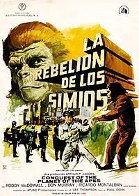 Cartel de cine ciencia ficción 1972