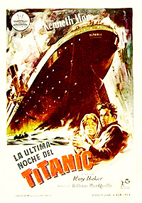Cartel de cine histórico 1958