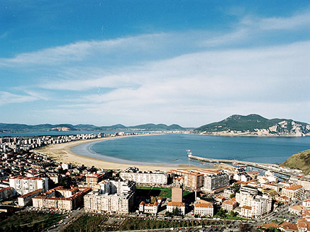 Vista general de Laredo (Cantabria)