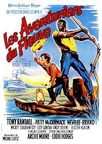 Cartel de cine aventuras 1960