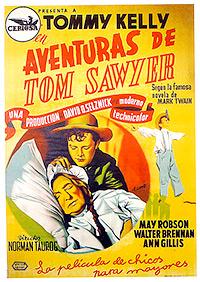 Cartel de cine clasico 1938