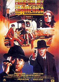 Cartel de cine gansteres 1984