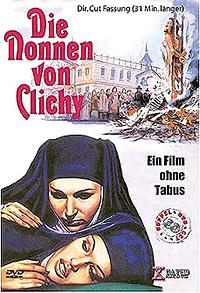 Cartel de cine erótico nunsploitation 1972