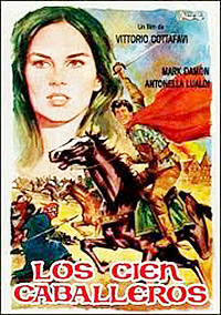 Cartel de cine aventuras 1964