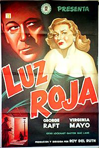 Cartel de cine de gánsteres 1949