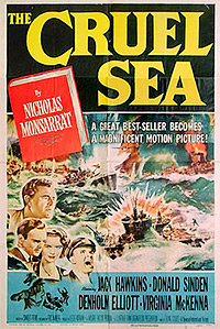 Cartel de cine bélico 1953