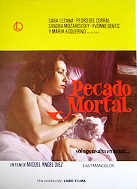 Cartel de cine erótico 1976