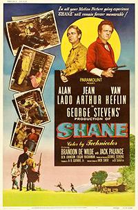 Cartel de cine oeste 1953