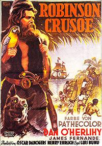 Cartel de cine aventuras 1954