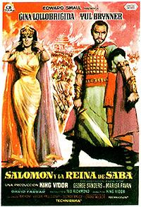 Cartel de cine bíblico 1959