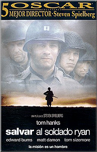 Cartel de cine bélico 1998