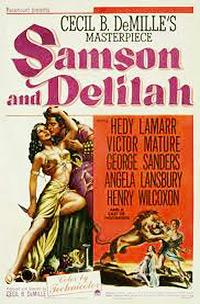Cartel de cine biblico 1949