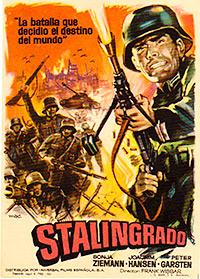 Cartel de cine bélico 1959