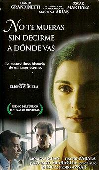 Cartel de cine latino clasico 1995
