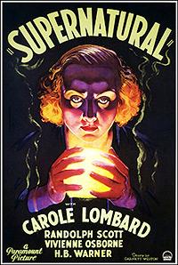 Cartel de cine misterio 1933