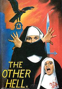 Cartel de cine terror 1980