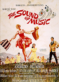 Cartel de cine musical 1965