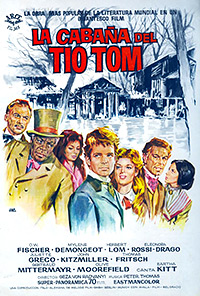 Cartel de cine clasico 1965