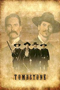 Cartel de cine oeste 1993