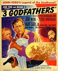 Cartel de cine oeste 1948