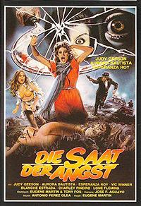 Cartel de cine terror 1973
